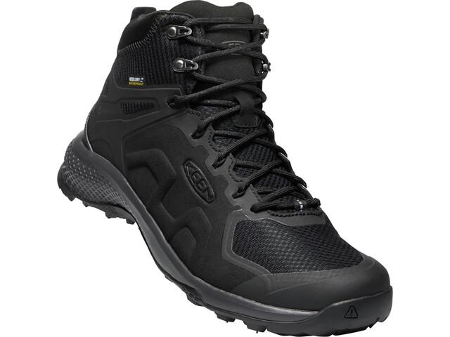 Keen Explr Mid WP Shoes Men Black/Magnet